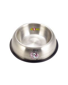 All4Pets Stainless Steel Bowls Medium 14x19x5.7 cm