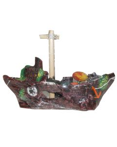 Aquatic Boat For Aquarium Decoration