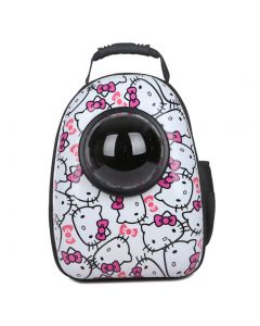 Petsworld Astronaut Pet Cat Dog Puppy Carrier Travel Bag Space Capsule Backpack Breathable (Yellow Blue)
