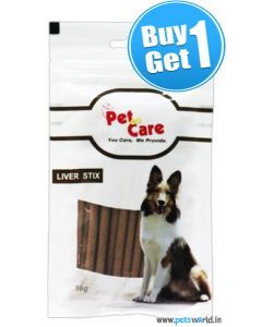 Pet en Care Liver Stix 80 gms BUY 1 GET 1