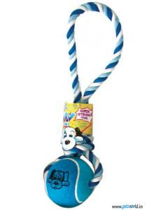 Pet Brands Wow Tennis Ball Tug Toy For Dogs Large