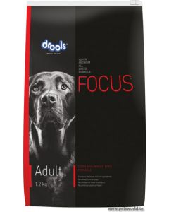 Drools Focus Adult Dog Food 1.2 Kg