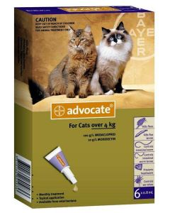BAYER Advocate Cat Spot On 0.8 Ml