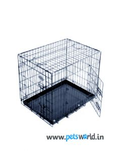 Scoobee Dog Cage D218 Black