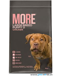 More Puppy Large Breed Dog Food 3 Kg