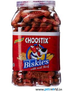 Choostix Real Beef Biskies 1 Kg