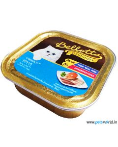 Bellotta Chat Gourmet Oceanfish Pate in Jelly Cat Food 80 gm