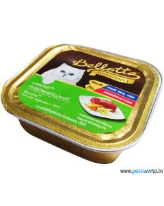 Bellotta Chat Gourmet Tuna With Vegetables in Gravy Cat Food 80 gm