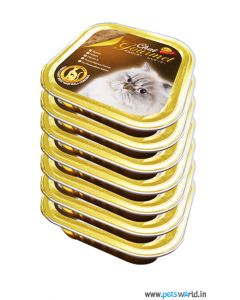 Bellotta Chat Gourmet Tuna Light Meat Hair Ball Control in Jelly Cat Food Combo