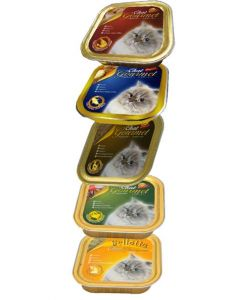 Bellotta Chat Gourmet Tuna Wet Cat Food Combo