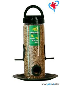Nature Forever Bird Feeder Transparent - 2 piece