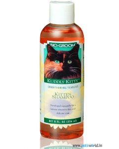 Bio-Groom Kuddly Kitty Kitten Shampoo Tearless Conditioning 235 ml