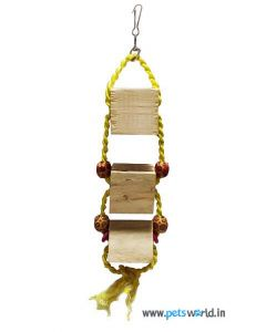 Smarty Avian Wooden Box Ladder Bird Toy
