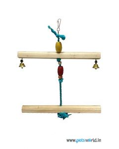 Smarty Avian Bird Toy with Beads and Bell 2