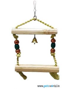 Smarty Avian Bird Toy with Beads and Bell (Small)