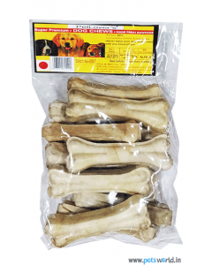 "Pet Lovers Pressed Calcium Bone 5"" x 750 gms"