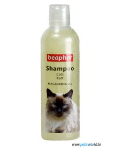 Beaphar Cat Shampoo Macadamia Oil 250 ml