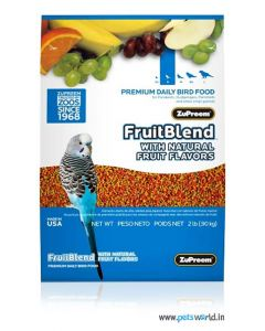 Zupreem Fruit Blend For Small Parrots 907 gms