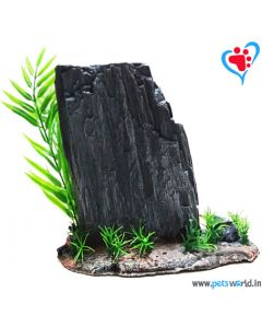 Aqua Geek Neolithic Rock Island (L) for Fish Aquariums