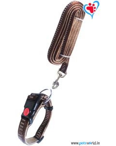 Petsworld Dog Collar + Leash Set (Large) FP-25000A-L