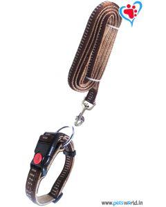 Petsworld Dog Collar + Leash Set (Large) FP-25000A-L