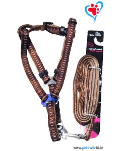 Petsworld Dog Harness + Leash Set (XS - S) FP-150003A-H