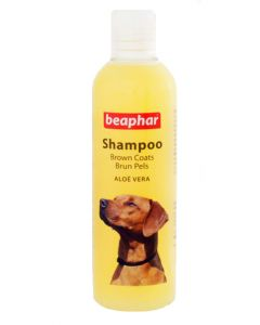 Beaphar Aloe Vera Dog Shampoo For Brown Coats 250 ml