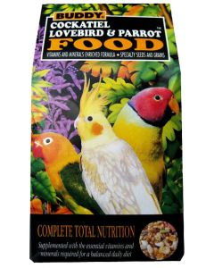 Buddy Cockatiel lovebird & Parrot Food 680 gm