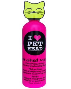 Pet Head De Shed Me Fresh Watermelon Miracle Deshedding Rinse for Cats 354 ml
