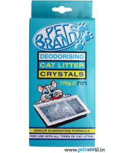 Pet Brands Cat litter Crystals 170 gms