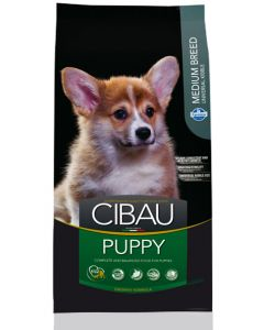 Cibau Medium Breed Puppy Dog Food 12 Kg