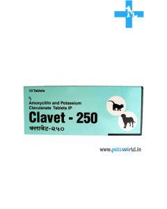 Cipla Clavet Antibiotic 250 mg Tablets (10 Tabs)