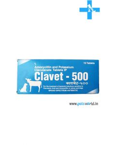 Cipla Clavet Antibiotic 500 mg Tablets (10 Tabs)