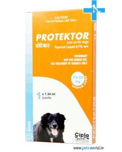 Cipla Protektor Spot On For Medium Dogs 10-20 Kg (1.34 ml)