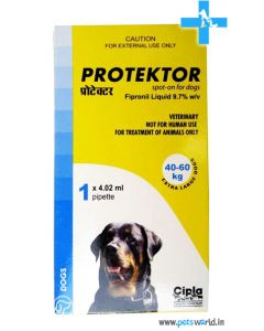 Cipla Protektor Spot On For Extra Large Dogs 40-60 Kg (4.02 ml)