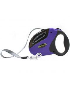 Petsworld Cool Buo Retractable Adjustable Leash for Dogs Blue Small