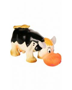 Trixie 24 Animal Farm Figures Cow Latex Dog Toy