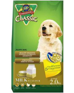 CP Classic Puppy Food Milk Flavor 2 Kg