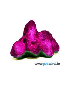 Fish Aquarium Coral Rock - Purple - CH-7720