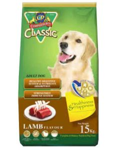 CP Classic Dog Food Adult Lamb Flavor 15 Kg