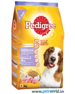 Pedigree Senior Adult Dog Food 3 Kg