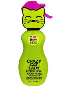Pet Head Litter Box Room Fragrance Spray strawberry Orange Lemonade for Cat 175 ml