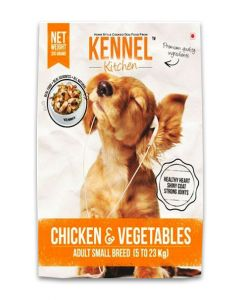 Kennel Kitchen Chicken & Vegetables Gravy Dog Food For Adult Small Breed 300 gms