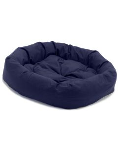 Dog Gone Smart Donut Bed Navy Blue 35 inch