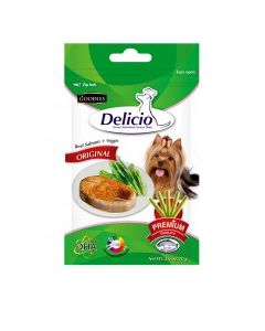 GOODIES Delicio Original Real Salmon Veggie 70 Gm