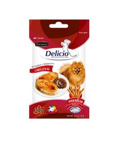GOODIES Delicio Original Real Salmon & Ckk 70 Gm