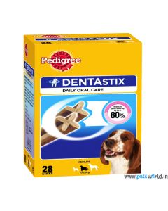 Pedigree DentaStix Medium Dog Dental Treats Monthly Pack 720 gms