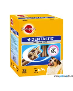 Pedigree DentaStix Small Dog Dental Treats Monthly Pack 440 gms