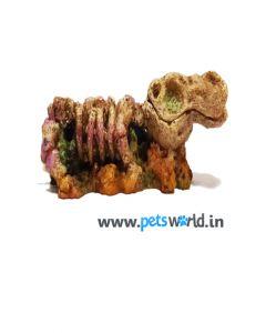 Exclusive Dinosaur Skull Bubble Stone for Aquariums