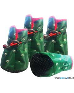 Party Special Waterproof Dog Shoes Large